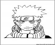 Coloriage manga naruto 133 dessin