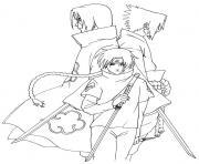 manga naruto shippuden 293 dessin à colorier
