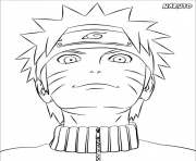 manga naruto 167 dessin à colorier