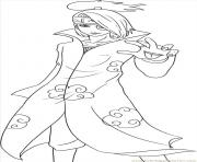 manga naruto 225 dessin à colorier