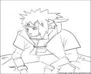 manga naruto 272 dessin à colorier