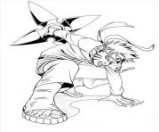 Coloriage manga naruto 77 dessin