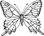 papillon 22 dessin à colorier