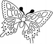 Coloriage papillon 46