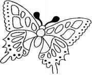 papillon 46 dessin à colorier