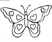 Coloriage papillon 30