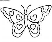 papillon 30 dessin à colorier