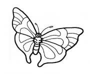 papillon 113 dessin à colorier