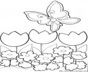 Coloriage papillon 217