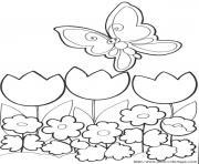 papillon 217 dessin à colorier