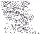 Coloriage adulte zen anti stress a imprimer 5