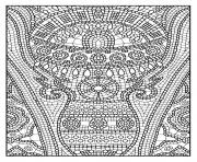 Coloriage adulte zen anti stress a imprimer 11