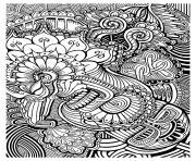 adulte zen anti stress relax a imprimer dessin à colorier