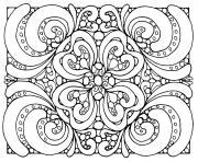 Coloriage Anti Stress Illusion Doptique.Coloriage Difficile Illusion Optique 1 Dessin