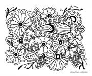 Coloriage adulte difficile 16