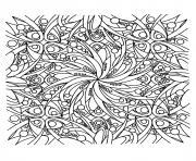 adulte zen dessin à colorier