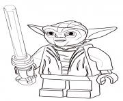 Coloriage star wars dessin