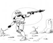 Coloriage star wars 18 dessin