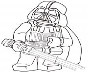 Coloriage lego star wars 3 movie
