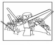 Coloriage lego star wars 73