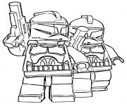 Coloriage lego star wars 60