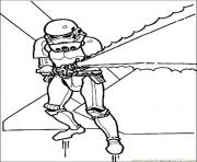 Coloriage stormtrooper star wars 7 dessin