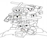 Coloriage lego star wars 78