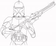 Coloriage star wars defense de la galaxie dessin