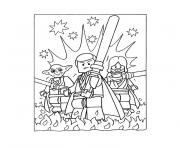 Coloriage lego star wars