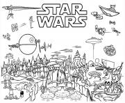 Coloriage star wars 13