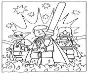 Coloriage lego star wars 3