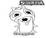 slugterra thugglet dessin à colorier