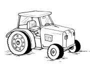 Coloriage tracteur 134 dessin