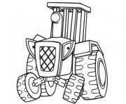 Coloriage tracteur 139 dessin