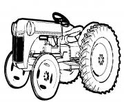 Coloriage tracteur imprimer dessin sur - Image de tracteur a colorier ...