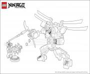 Coloriage ninjago monster vs dogshank