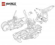 Coloriage ninjago imprimer gratuit sur - Lego ninjago voiture ...