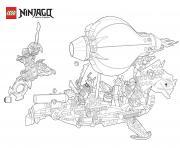 coloriage ninjago vs ennemis en bateau