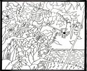 Coloriage art therapie 83 dessin