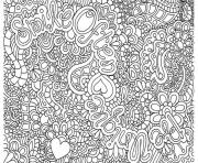 Coloriage art therapie 125