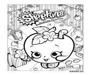 shopkins kifesto 003 dessin à colorier
