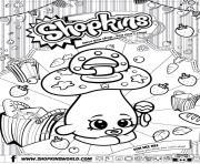 shopkins dum mee mee dessin à colorier