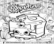 Coloriage shopkins split milk