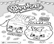 shopkins jingle purse milk bud dessin à colorier