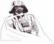 Coloriage star wars projets de darth sidious dessin