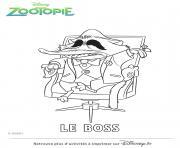 Coloriage zootopie dessin judy hopps dessin