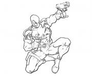 Coloriage deadpool marvel 16