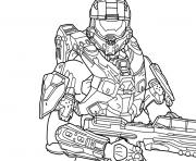 Coloriage halo 5 free