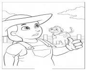 pat patrouille 10 dessin à colorier