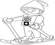 Coloriage playmobil cirque dessin